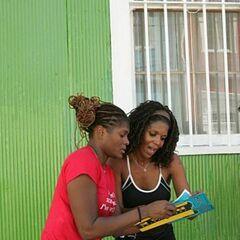 Monique & Shawne reading <a href=