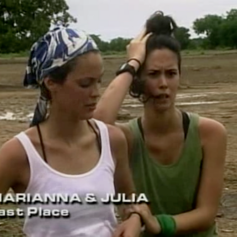 Marianna & Julia were eliminated from the race in 9th Place.