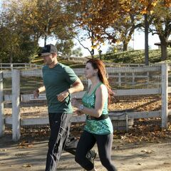 Brendon & Rachel heading to the <a href=