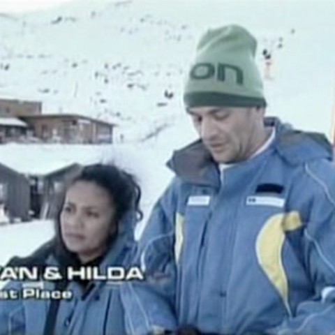 Hilda & Ivan were eliminated from the race in 7th Place.