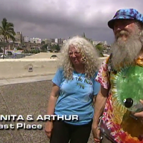 Anita & Arthur were eliminated from the race in 11th Place.