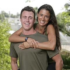 An Alternate promotional photo of Garrett & Jessica for <i>The Amazing Race</i>.