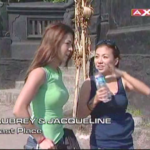 Jacqueline & Aubrey were eliminated from the race in 9th place after taking a penalty.