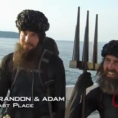 Brandon & Adam were eliminated from the race in 8th place after having been <a href=