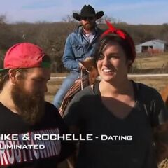 Mike & Rochelle were eliminated in the middle part of the final leg in 4th place.