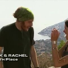 TK & Rachel finish 4th on <a href=