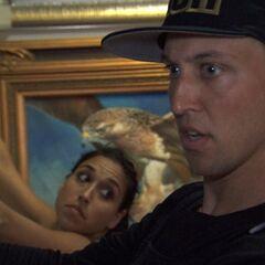 Dana & Matt doing the <i>Master of Arts</i> Detour in <a href=