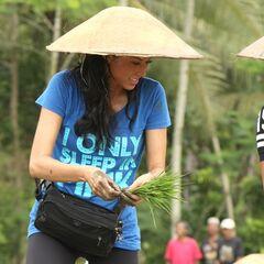 Kaylani & Lisa doing the <i>Rice Field</i> <a href=
