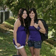 An alternate photo of Maria & Tiffany for <i>The Amazing Race 15</i>.
