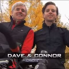 Dave & Connor's opening pose