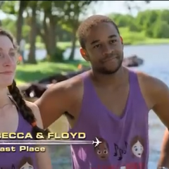Becca & Floyd are eliminated from the Race in 5th place for a second time after being U-Turned.