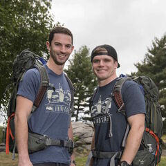 Alex & Conor's alternate promotional photo for <i>The Amazing Race</i>.