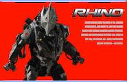 Character bios rhino