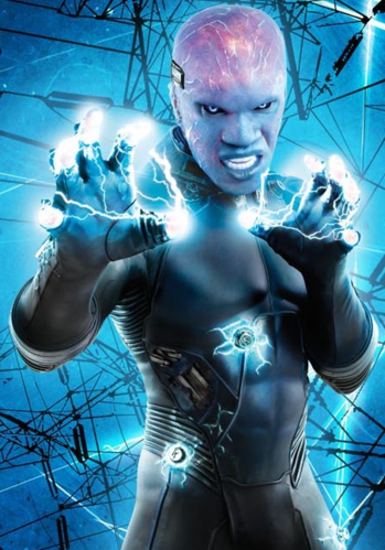 electro spiderman