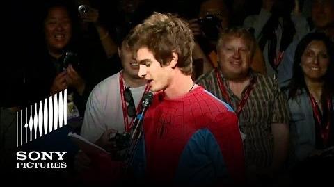 Andrew Garfield Has Superhero Moment