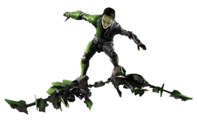 New Goblin Spiderman 3