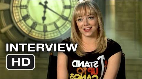 The Amazing Spider-Man Interview - Emma Stone (2012) Marvel HD