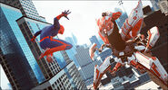 The-Amazing-Spider-Man-and-Robot
