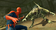 Spidey faces off against Iguana