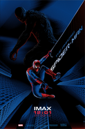 The Amazing Spider-Man IMAX poster