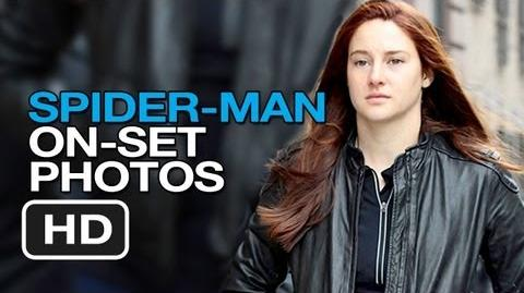The Amazing Spider-Man 2 - On Set Photos (2013) - Andrew Garfield Movie HD