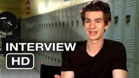 The Amazing Spider-Man Interview - Andrew Garfield (2012) Marvel HD