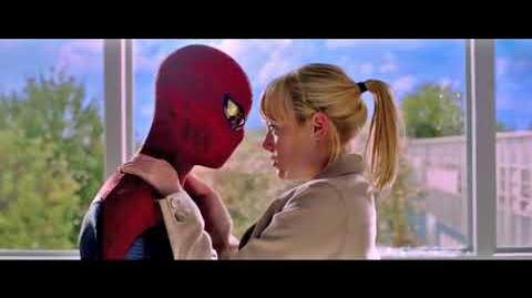 Gwen Stacy's Bedroom Window (Scene Without CGI Effects) - The Amazing Spider-Man (2012)