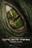 The Amazing Spider-Man second IMAX poster