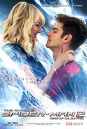 The Amazing Spider-Man 2 - Peter Parker and Gwen Stacy - International Poster