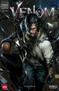 Venom comic book cover