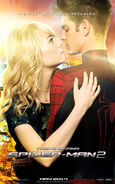 The Amazing Spider-Man 2 Peter and Gwen Poster