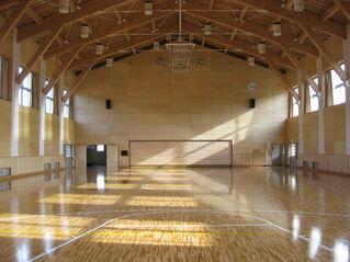 Yashima Junior High School small gym