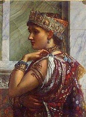 Sir Edward Poynter, Zenobia Captive 1878