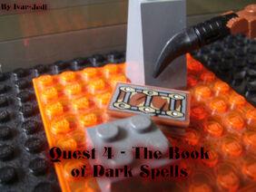 Quest 4 - The Book of Dark Spells