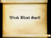 Weakblastspell