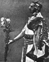 Samuel Liddell MacGregor Mathers in Egyptian getup