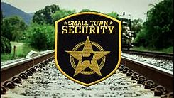 Small Town Security Title Card
