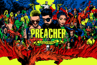 Preacher SDCC key art