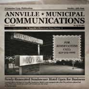 Annville Municipal Communications - Sunday 19th June