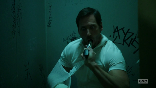 File:Donnie puts a gun in his mouth after being commanded by Jesse.png