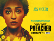 Preacher season 2 poster - Ass Kicker