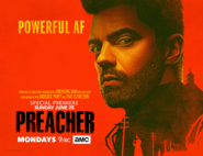 Preacher season 2 poster - Powerful AF