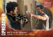 El Valero Topps card - What'd You Say, Preacher