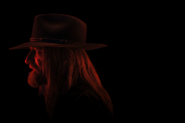 Preacher season 2 portrait - Saint of Killers side shot