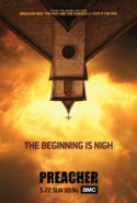 Preacher season 1 poster - The Beginning Is Nigh