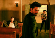 Preacher season 1 - Trio in the church
