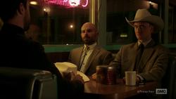DeBlanc and Fiore confront Jesse