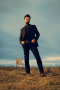Preacher season 1 - Jesse Custer on a field