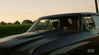 Jesse and Cassidy depressingly drive off to Angelville