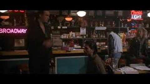 Steven Seagal in Out For Justice, Bar Scene!